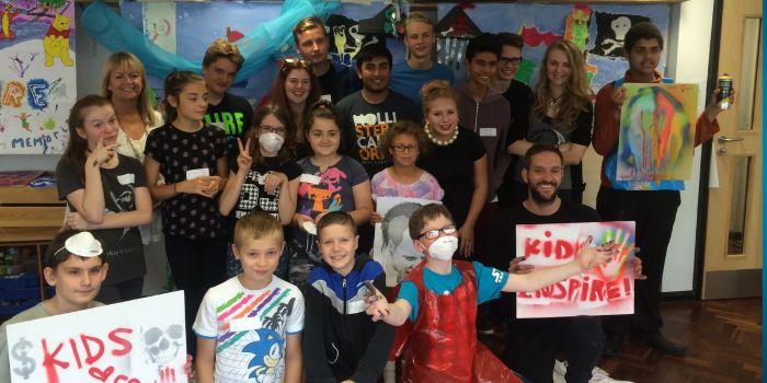 SEDCOM supported the Kids Inspire Artists workshop